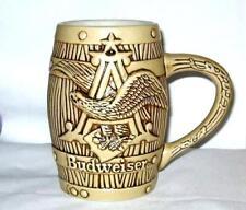 Budweiser Ceramarte Beer Stein Barrell Mug St. Louis. Mo. Brazil
