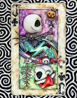 Nightmare Before Christmas Jack Tim Burton drawing card game art print SIGNED