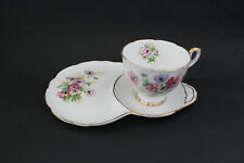 ROYAL STAFFORD bone china Henley cup, saucer, plate tennis set.