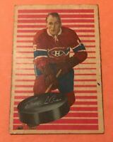 1963 Parkhurst #82 Henri Richard  Montreal Canadians Hockey Card Good Crease