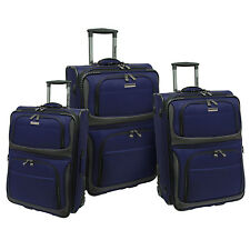 """Conventional II 3pc 21"""" 25"""" 29"""" Ballistic Rollaboard Expand Luggage Suitcase Set"""