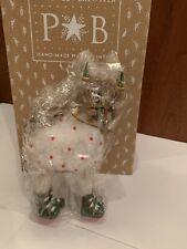 "Patience Brewster Krinkles 7 "" Dash Away Blitzen Christmas Reindeer Figure"