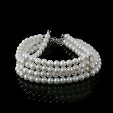 Fashion Charm Collar Jewelry Beads Pendant Multi-layer  Pearl Choker