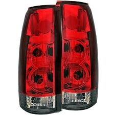 ANZO TAIL LIGHTS RED/SMOKE G2 for 88-98 CHEVY/GMC C/K1500/2500 - 211157