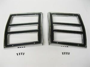 NEW 1968 Dodge Dart Tail Light Lamp Bezels Trim 68
