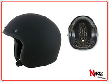 AFX FX 76 CASCO MOTO CAFE RACER CUSTOM VINTAGE HELMETH CHOPPER FLAT BLACK