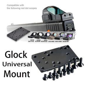 Glock Red Dot Sight Pistol Accessories Mount Plate Base for Vortex Venom and Vi