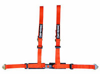 Securon Race & Rally 4 Point Harness With Snap Hooks in Red 655/RED