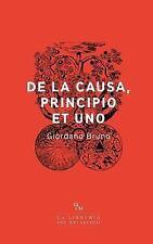 De la Causa, Principio et Uno by Giordano Bruno (2017, Paperback)
