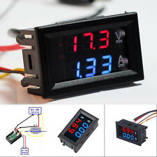 Digital amperimetro voltimetro LED AMP Metro voltio trabajo w/- 10 ℃-+ 65 ℃ R3