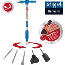 Scheppach Druckluftspaten AERO² SPADE 5 in 1 Universalwerkzeug + 5 tlg. Zubehör