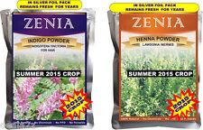 500g each 2015 Henna + Indigo Powder For Hair Pack USA seller Natural Dye Kit