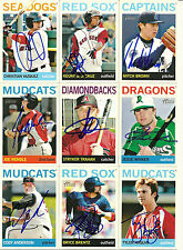2013 Topps Heritage JESSE WINKER Signed Card REDS auto rc OLYMPIA HS ORLANDO
