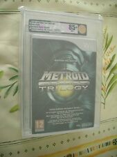 >> VGA 85+ METROID PRIME TRILOGY WII NINTENDO PAL FRENCH NEW FACTORY SEALED! <<