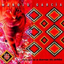 CD+DVD - MANOLO GARCIA - PARA QUE NO SE DUERMAN MIS SENTIDOS (NUEVO Y PRECINTADO