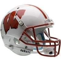 WISCONSIN BADGERS SCHUTT XP FULL SIZE REPLICA FOOTBALL HELMET