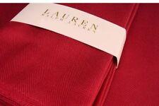 "RALPH LAUREN TABLE COVER - RECTANGLE - 152cm x 213cm- 60"" x 84"" RED TUXEDO"
