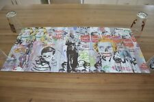 Mr. Brainwash Love is the Answer Lithograph poster NICE Kate Moss Warhol