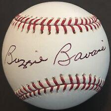Buzzie Bavasi dec.08 Brooklyn LA Dodgers 1951-68 HOF Autographed baseball PSA