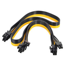 For Silverstone Modular PSU PCI-e 6 Pin to 6+2 Pin 8 Pin Power Supply Cable