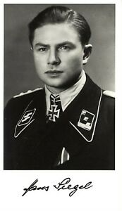 Ordinance Officer for the 1st Grenadiers Regiment Max Haschberger signed photo