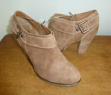 Sofft Willa Women's Suede Zip Ankle Boots 9.5