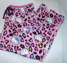 Hello Kitty by Sanrio Junior Lounge Sleep Capri Pants Pink Small (S) NWT