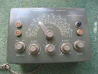 Heathkit SG-8 RF Signal Generator - Vintage Untested Used