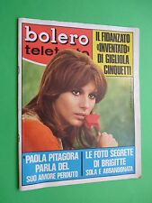 Bolero 1115 15/1968 Paola Pythagore Gigliola Cinquetti Brigitte Bardot Aznavour