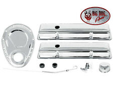 Camaro Small Block 283-305-327-350 Chrome Valve Cover and Engine Dress Up Kit