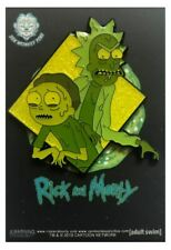 Zen Monkey: We're the Toxins! (Famous Moments)   - Rick and Morty Enamel Pin