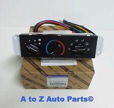 NEW 2005-2006 Jeep Wrangler TJ Heater Temperature Control Unit, OEM Mopar