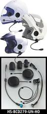 J&M Headset and Lower Cord for Modular Helmet - Goldwing GL1800  2001 - present