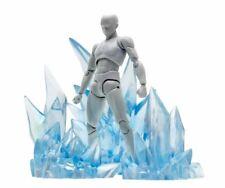 SAINT SEIYA Camus Hyoga efecto polvo de diamantes, Ice special effect diorama