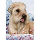 Winter House Flag - Wheaten Terrier 15056