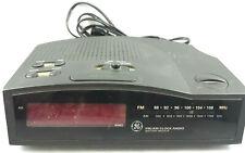 GE Alarm Clock Radio No 7-4813B AM/FM Battery Backup LED General Electric Tested