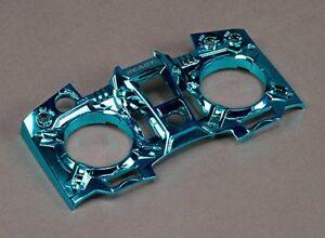 Turnigy 9XR and 9XR Pro Transmitter Custom Faceplate - Metallic Blue