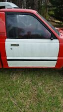 1988 MAZDA B2200 5 SPEED PASSENGER DOOR RIGHT WHITE PICK UP TRUCK RUST FREE