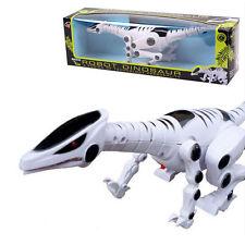 PILE Robot Dinosauro Giocattolo-Roaring SUONO E PASSEGGIATA colori assortiti