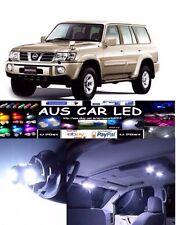 Nissan Patrol GU White Interior light LED upgrade kit for dome & map ect