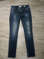 LTB Jeans Valerie NEU Bootcut Damen Hose Blau Used Stretch Denim W25-W32 L34