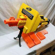 Nerf Stampede ECS N-Strike Automatic Blaster Dart Gun with 3Clips, Bipod, Shield