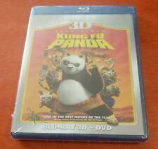 Kung Fu Panda Blu-ray 3D + DVD Jack Black  Dustin Hoffman  Lucy Liu  Seth Rogen