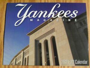 2021-2022 New York Yankee Calendar