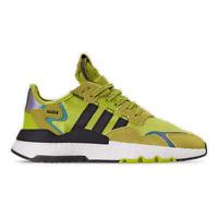 Men's adidas Originals Nite Jogger Casual Shoes Semi Solar Yellow/Core Black/Foo