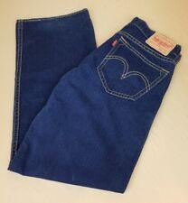 LEVIS Type 1 Real Loose Jeans Classic Rise Baggy Blue Denim Pants Sz 36x34 A