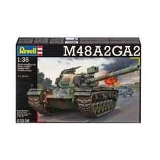 Revell 03236 1:35 Scale US M48 Main Battle Tank Military Kit