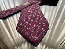 Hermes silk Tie 7168 FA Cravatta Stripe And Knot
