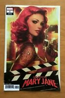 Amazing Mary Jane 1 2019 Stanley Artgerm Lau Variant Cover Marvel Comics VF/NM