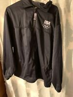 US Olympic Committee Mens XL Track Warm Up Jacket